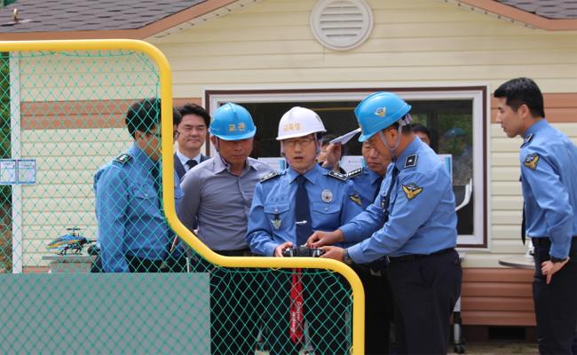해양경찰교육원, 민간드론 교육기관과 업무협약