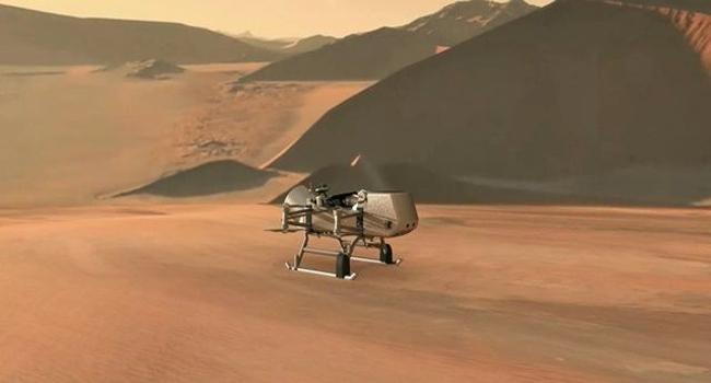 NASA, 토성의 달 '타이탄'에 드론 탐사로봇 보낸다