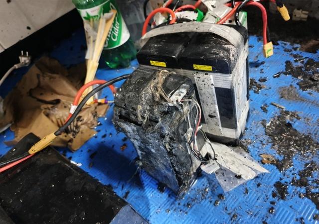 중원대 연구실 드론 배터리 충전기 화재…과충전 발화로 추정