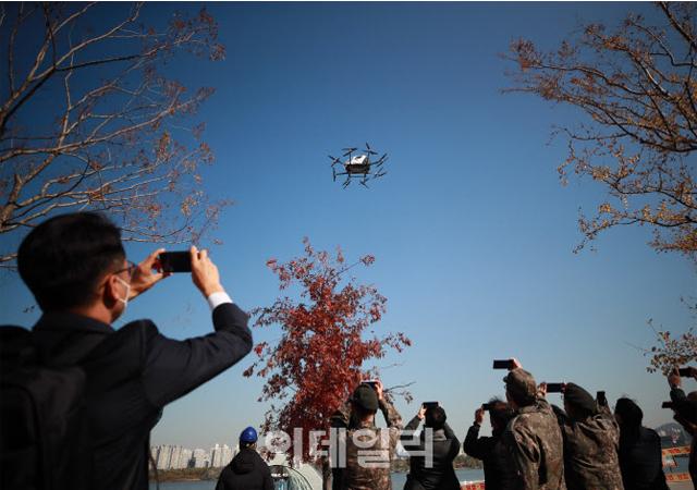 서울서 드론으로 실종자 첫 구조