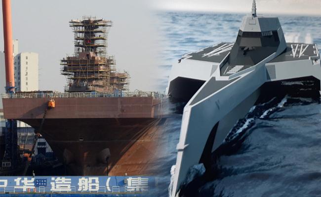 中 '핵추진 항모' 추진, 한발 앞선 美 '드론 전투함'