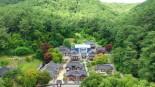안동호 섬마을 청보리밭 축제장과 도산서원 유네스코 세계유산